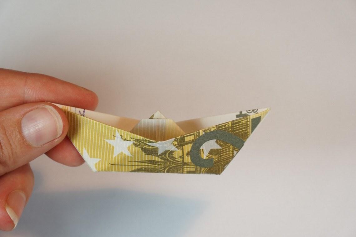 Geldscheine Und Geldgeschenke Falten