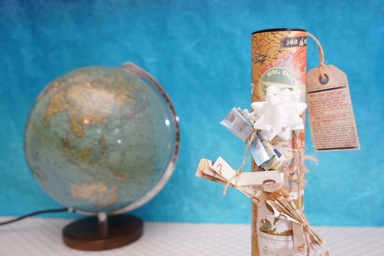 Einmal Um Die Welt Geldgeschenk Fur Eine Reise