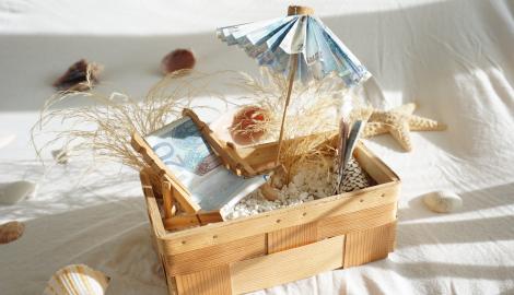 kreative geldgeschenke zum selber basteln und verpacken. Black Bedroom Furniture Sets. Home Design Ideas